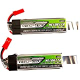 2pcs Upgraded Turnigy Nano-Tech 600mah 1S 35-70C Lipo Pack Nine Eagles Solo Pro 328, Eflite MQX, Blade 120SR, Smya X1, Hobby Zone Champ
