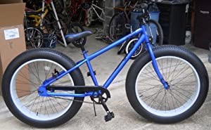 "Amazon.com : 26"" Mongoose Beast Men's Oversized All Terrain Bike BLUE"