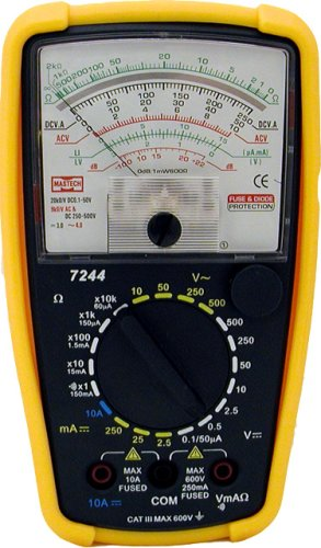 Buy Mastech 7-Function 20-Range Analog Multimeter, 7244