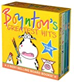 Boyntons Greatest Hits: Volume 1/Blue Hat, Green Hat; A to Z; Moo, Baa, La La La!; Doggies (Boynton Board Books)