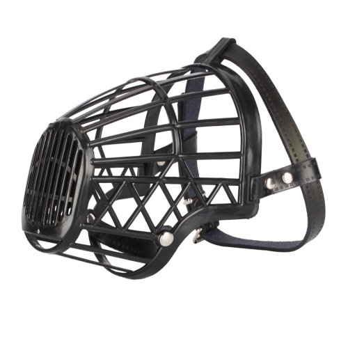 Plastic Basket Muzzle For Dogs front-1050607