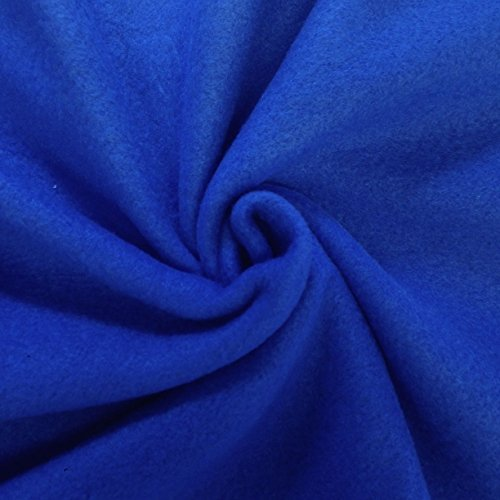 Solid Royal Blue Fleece Fabric 60'' inch Sold by The Yard (Blue Fleece Fabric compare prices)