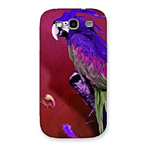 Stylish Magic Parrot Multicolor Back Case Cover for Galaxy S3 Neo