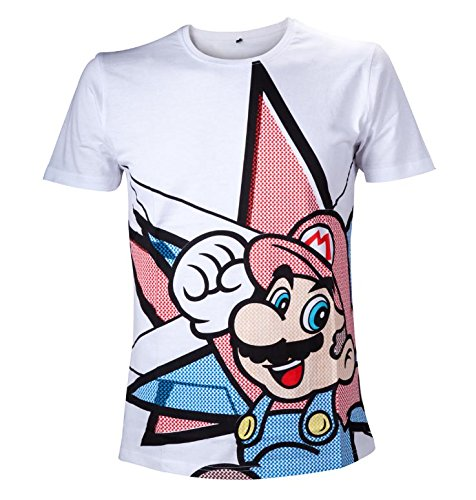 Official T Shirt SUPER MARIO Nintendo 64