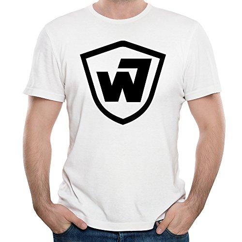 hommes-warner-bros-warners-wb-time-warner-round-neck-t-shirt-x-large