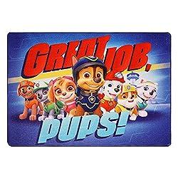 Paw Patrol Great Job Pups Digital Printed Rug Multicolor 40 x 54