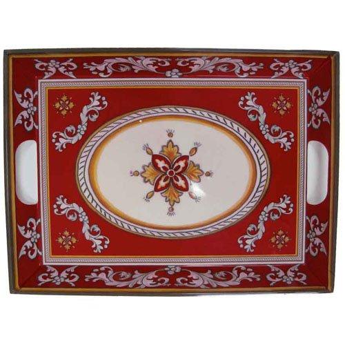 Malaga Red - Le Cadeaux Melamine Dinnerware Tray  sc 1 st  tracy porter dinnerware - Blogger & tracy porter dinnerware: Malaga Red - Le Cadeaux Melamine Dinnerware ...