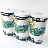 カークランド ロールタオル(ペーパータオル) 2枚重ね 160カット 3ロール