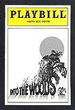 """Stephen Sondheim """"INTO THE WOODS"""" Bernadette Peters / Chip Zien 1988 Playbill"""