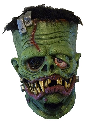 Frankenfink Monster Zombie Horror Scary Latex Adult Halloween Costume Mask