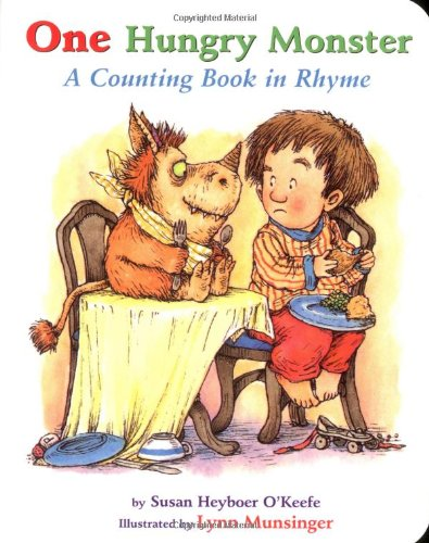 One Hungry Monster : A Counting Book in Rhyme Board Book