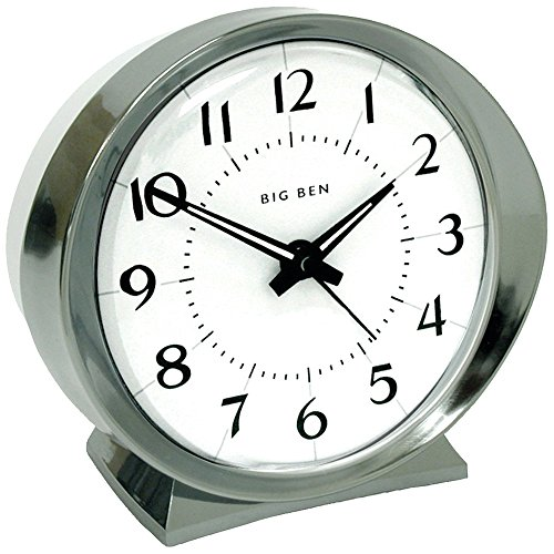 WESTCLOX 10611QA Battery-Powered Big Ben Alarm Clock (Corded Electric Clock compare prices)