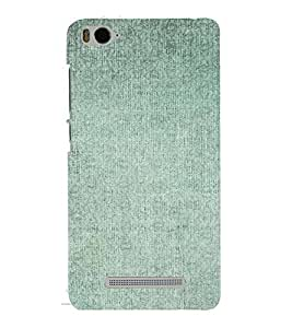 PrintVisa Faded Green Pattern 3D Hard Polycarbonate Designer Back Case Cover for Xiaomi Redmi MI 4C