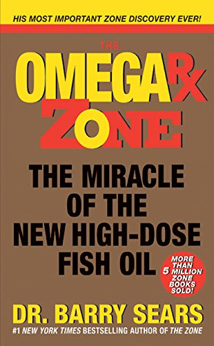 Omega Rx Zone: The Miracle of the New High-Dose Fish Oil (The Zone) (Omega 3 Barry Sears compare prices)
