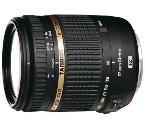 TAMRON 18-270 mm f / 3.5-6.3 Di II VC PZD - Telephoto zoom lens