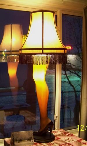 Christmas Story Full Size Leg Lamp Floor Lamps