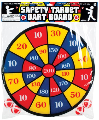 Fabric Dart Board Set front-944515