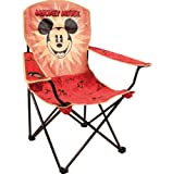 Disney Mickey Mouse Vintage Adult Camping Chair with Cup Holder