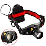 SHOPINNOV Lampe frontale LED super br...