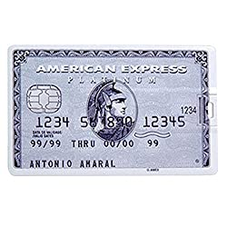 Dreambolic American express silver card USB PENDRIVE - 32GB
