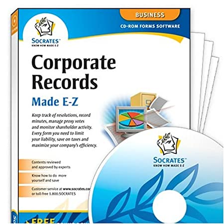 Corporate Records Made E-Z (PC)