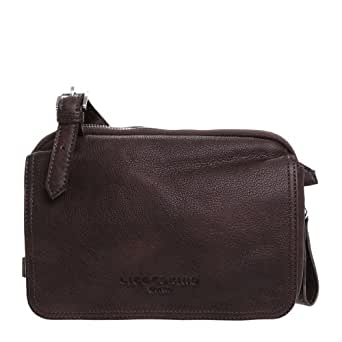 Liebeskind Berlin Maike 2D leather, Damen Schultertasche, Grau (taupe)