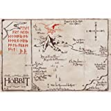 GB eye The Hobbit Mountain Map Maxi Poster, Multi-Colour