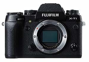 Fujifilm X-T1 Appareil numérique Pro à Objectif Interchangeable 16,3 Mp X-Trans II (APS-C) EVF (2,36Mp, 0,77x) 8ips Tout Temps Boitier Nu Noir