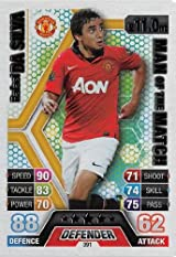 Match Attax 2013/2014 Rafael da Silva Manchester United 13/14 Man Of The Match