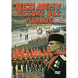 Red Army Victory Parade in Red Square June, 1945 (DVD)