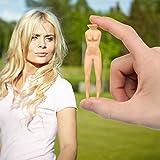 Nuddie Naked Lady Golf Tees - Tube of 9 Tees - by rezzu.®