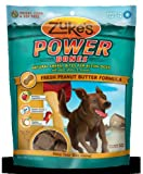 Zukes Power Bones Dog Treats Peanut Butter - 6 oz - HSG-692996