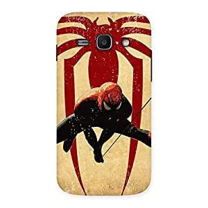 Hanging Web Multicolor Back Case Cover for Galaxy Ace 3