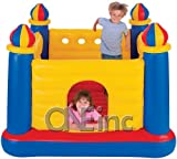 Pool Slides:Intex Jump-O-Lene blow up Castle rebound Bouncer
