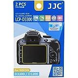 JJC Guard Film Protection d'écran pour Nikon D3200, D3300 (2 pièces) - protection d'écran antireflet