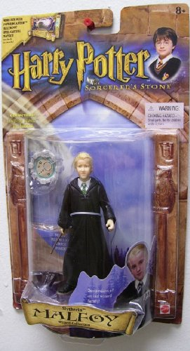 Mattel Harry Potter Action Figure: Slytherin Malfoy (Wizard Collection)