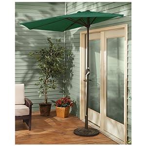 CASTLECREEK Half Patio Umbrella by CASTLECREEK