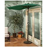 CASTLECREEK Half Patio Umbrella, KHAKI