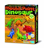 4M Dinosaur Mould and Paint