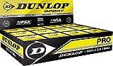 "12x Dunlop Squash Balls ""Pro"" doubleyellow"