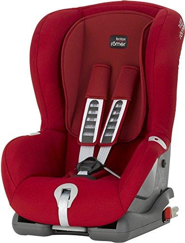 Britax-Romer 2000022754 Duo Plus Seggiolino Auto, Rosso (Flame Red)