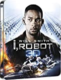 I, Robot 3D Includes 2D Version UK Exclusive Limited Edition Steelbook Blu ray Matt Finish Limited print 3000 Copies