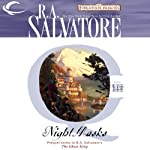 Night Masks: Forgotten Realms: The Cleric Quintet, Book 3 (       UNABRIDGED) by R. A. Salvatore Narrated by Victor Bevine