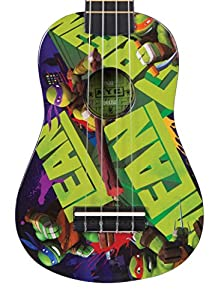 Teenage Mutant Ninja Turtles Musical Instruments TMG34 3/4 Size Guitar - Parent