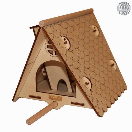 DAMASU-BSVH01-Bausatz-Sonstiges-kleines-Vogelhaus