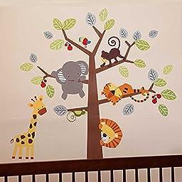 Treetop Buddies Wall Appliques