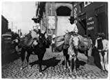 8x12 inch Photographic Print from a high-quality scan of the original.Title: Vegetable men, Havana, Cuba Date Created/Published: c1904. Summary: Street view with two men on horseback carrying baskets of vegetables on the horses. Notes: Copyri...