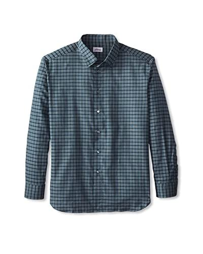 Brioni Men's Plaid Sport Shirt