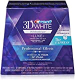 Crest 3D White Luxe Whitestrips Professional Effects 20 Treatments + Crest 3D White Whitestrips 1 Hour Express 2 Treatments - Teeth Whitening Kit