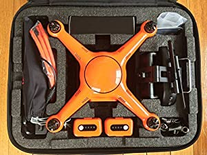 Autel Robotics X-Star Premium Drone with 4K Camera, 1.2-Mile HD Live View & Manufacturer Accessories (Orange) +extra 1x Autel Robotics Battery(Li-Po with 4900mAh, 14.8V) by Autel Robotics